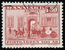 Buy Denmark #662 Royal Mail Guards' Office; Used (4Stars) |DEN0662-01XBC