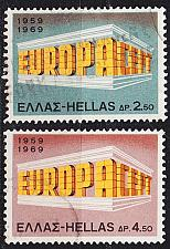Buy GRIECHENLAND GREECE [1969] MiNr 1004-05 ( O/used ) CEPT