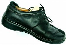 Buy Josef Seibel Women's Black Leather Nubuck Lace Up Oxford Shoe EUR 38 US 6.5