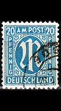 Buy GERMANY Alliiert AmBri [1945] MiNr 0026 b D ( O/used )