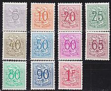 Buy BELGIEN BELGIUM [1951] MiNr 0887-97 ( */mh )