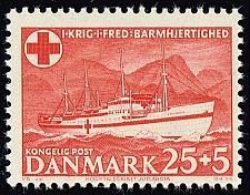 Buy Denmark #B19 S.S. Jutlandia; MNH (2Stars) |DENB019-01