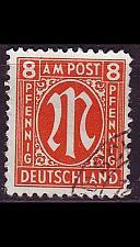 Buy GERMANY Alliiert AmBri [1945] MiNr 0021 D ( O/used ) [01]