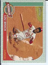 Buy Lou Brock 2017 Topps Heritage Baseball Flashbacks