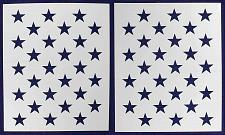 """Buy 50 Star Field Stencil 14 Mil 2 Pc-G-Spec -21""""H x 29.65"""" W - Painting /Crafts/ Te"""