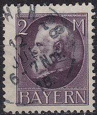 Buy GERMANY Bayern Bavaria [1916] MiNr 0105 II A ( O/used )