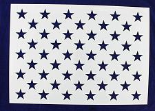 "Buy 50 Star Field Stencil 14 Mil-G-Spec -19.3""L - Painting /Crafts/ Templates"