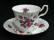 Buy Royal Albert Tea Cup and Saucer Set Red Roses