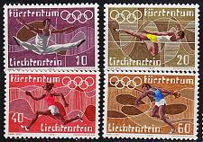 Buy LIECHTENSTEIN [1972] MiNr 0556-59 ( O/used ) Sport