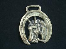 Buy Vintage Medallion Harness Horse Brass Windsor Grey Ornament