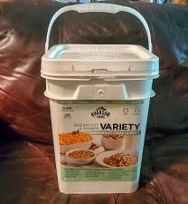 Buy Augason Farms Variety Pail Emergency Food Supply 4 Gallon 106 Serving New Sealed