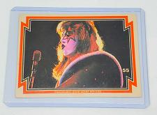 Buy VINTAGE KISS LIVE ACE FREHLEY 1978 AUCOIN ROCK MUSIC COLLECTORS CARD #55 GD/VG