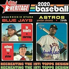Buy 2020 TOPPS HERITAGE COMPLETE MASTER SET 590 CARD SPS INSERTS INCLUDING MAYS