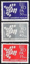 Buy TÜRKEI TURKEY [1961] MiNr 1820-22 ( **/mnh ) CEPT