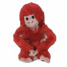 "Buy Greenbriar Intl Valentine Love Red Monkey Plush Stuffed Animal 16"""