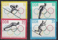 Buy GERMANY DDR [1963] MiNr 1000-03 ( **/mnh ) Olympiade