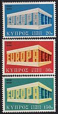 Buy ZYPERN CYPRUS [1969] MiNr 0319-21 ( **/mnh ) CEPT