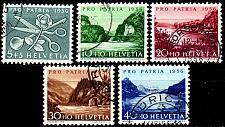 Buy SCHWEIZ SWITZERLAND [1956] MiNr 0627-31 ( O/used ) [01] Pro Patria
