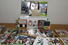 Buy 3 Autograph Football cards, 3 new packs and 50 Bonus cards Free ship gift set