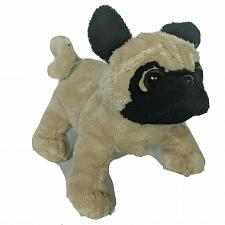 Buy Ganz Webkinz Lil Kinz Tan Pug Puppy Dog Stuffed Animal HS105 No Code 7""