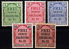 Buy GERMANY REICH Dienst [1903] MiNr 0001 ex ( **/mnh ) [02]