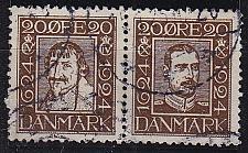 Buy DÄNEMARK DANMARK [1924] MiNr 0136+33 ( O/used )