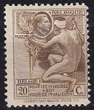 Buy BELGIEN BELGIUM [1922] MiNr 0169 ( */mh )