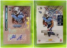 Buy NFL Antonio Andrews Titans Autographed 2014 Panini Playoff Ticket RC /199 Mint