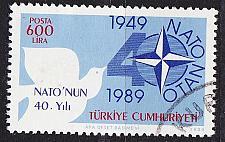 Buy TÜRKEI TURKEY [1989] MiNr 2851 ( O/used ) NATO