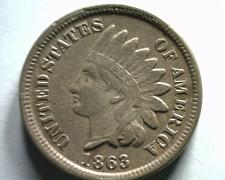 Buy 1863 INDIAN CENT PENNY VERY FINE / EXTRA FINE VF/XF VERY FINE / EXTREMELY FINE