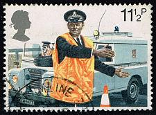 Buy Great Britain #876 Constable Directing Traffic; Used (0.25) (4Stars) |GBR0876-03XVA