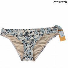 Buy NWT Kona Sol Womens Hipster Bikini Swim Bottom Large Pink Blue Geometric
