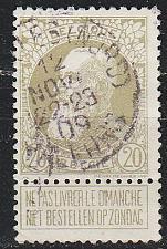Buy BELGIEN BELGIUM [1905] MiNr 0072 ( O/used )
