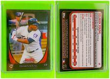 Buy MLB DELMON YOUNG MINNESOTA TWINS 2011 BOWMAN CHROME REFRACTOR #61 MNT