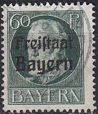 Buy GERMANY Bayern Bavaria [1919] MiNr 0162 A ( O/used ) [01]