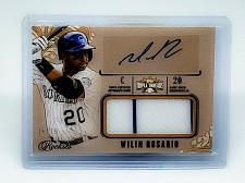 Buy WILIN ROSARIO ROCKIES AUTOGRAPHED 2014 TOPPS TRIPLE THREADS JUMBO JERSEY SP/75