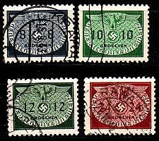 Buy GERMANY REICH GenGouv [Dienst] MiNr 0016 ex ( O/used ) [01]
