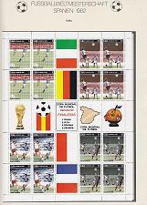 Buy KUBA CUBA [1982] MiNr 2685-88 ( O/used ) Fußball soccer Bogen