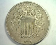 Buy 1866 RAYS SHIELD NICKEL EXTRA FINE+ XF+ EXTREMELY FINE+ EF+ NICE ORIGINAL COIN