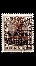 Buy GERMANY REICH Besetzung [Polen] MiNr 0007 a ( O/used )