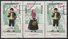 Buy GERMANY DDR [1966] MiNr 1214 WZd169 ( OO/used ) Trachten