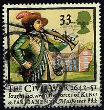 Buy Great Britain #1456 Musketeer; Used (0.95) (2Stars) |GBR1456-01XVA