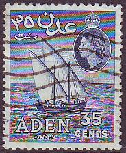 Buy ADEN [1954] MiNr 0066 ( O/used ) [01] Wellenstempel