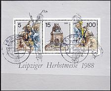 Buy GERMANY DDR [1988] MiNr 3193-95 Block 95 ( OO/used ) [01]
