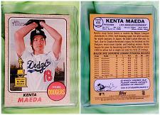 Buy MLB KENTA MAEDA LA DODGERS 2017 TOPPS HERITAGE ALL-STAR ROOKIE #415 MNT