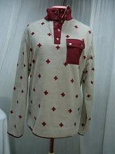 Buy Arborist Fleece Skier Pullover sweatshirt S/M Red Cross First Aid Symbols NWT