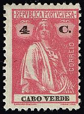 Buy Cape Verde #181 Ceres; Unused (2Stars) |CPV0181-01XRS