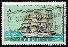 Buy Bermuda #337 Christian Radich of Norway; Used (0.25) (3Stars) |BER0337-03XRS