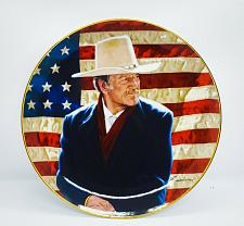 Buy John Wayne, COWBOY LEGEND, Robert Tanenbaum, Franklin Mint Plate