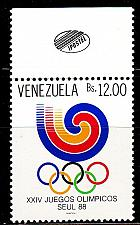 Buy VENEZUELA [1988] MiNr 2551 ( **/mnh ) Olympiade